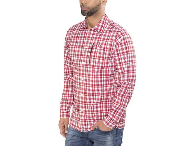 Meru Bossost Functional LS Shirt Men Cherry